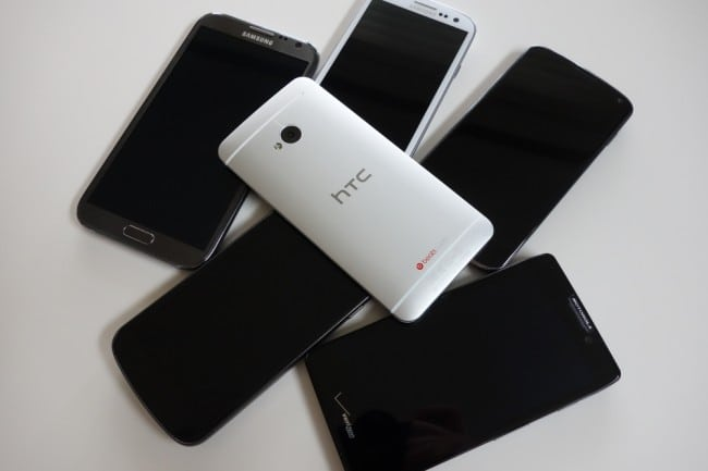[VIDEO] HTC One vs Galaxy S3 vs Nexus 4 vs Galaxy Nexus vs RAZR HD vs Galaxy Note 2